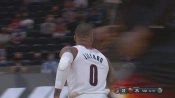 NBA, 30 punti di Damian Lillard contro Utah