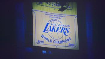 NBA, Lakers: svelato il banner del titolo 2020