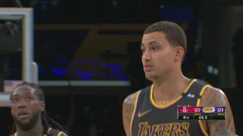 NBA Highlights LA Lakers-Houston 124-122_3439560