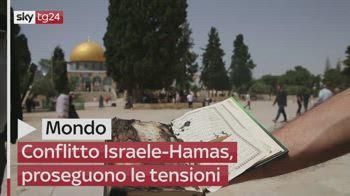 Conflitto Israele-Hamas, proseguono le tensioni