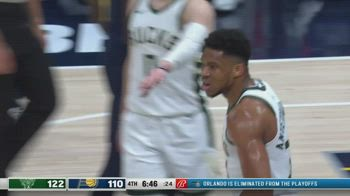 NBA, i 40 punti di Giannis Antetokounmpo contro Indiana