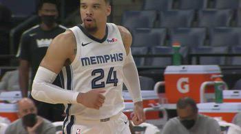 NBA, i 30 punti di Dillon Brooks contro Sacramento
