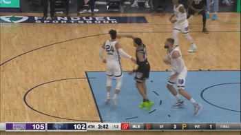 NBA, i 31 punti di Justin James contro Memphis