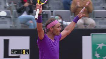 Internazionali, Nadal batte Zverev: gli highlights