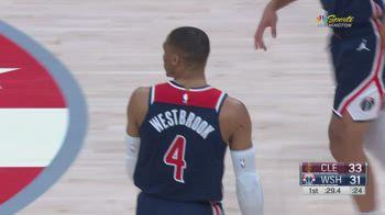 NBA, tripla doppia di Russell Westbrook contro Cleveland