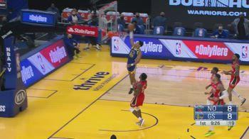 NBA, i 38 punti di Jordan Poole contro New Orleans