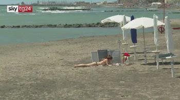 Lazio, riaprono gli stabilimenti balneari