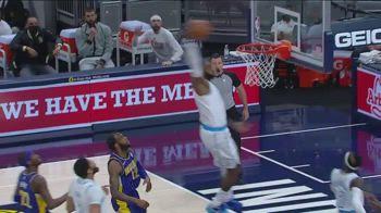 NBA, LeBron James torna in campo e schiaccia contro Indiana