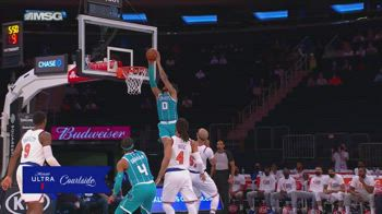 NBA, 30 punti per Miles Bridges contro New York