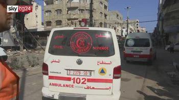 ERROR! testimonianza da Gaza, gli ospedali chiedono aiuto le vittime sotto le macerie