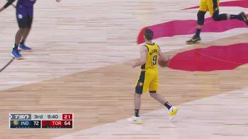 NBA, i 17 assist di TJ McConnell contro Toronto