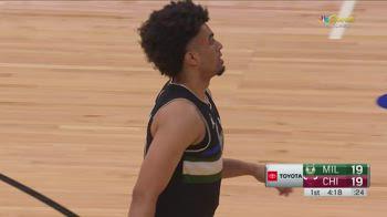 NBA, 34 punti di Jordan Nwora contro Chicago