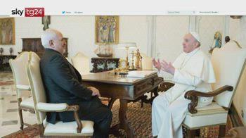 ERROR! Il ministro iraniano zarif incontra il santo padre