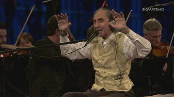 Sky Arte: Franco Battiato canta La Cura. VIDEO