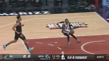 NBA, la tripla doppia di Dejounte Murray contro Memphis