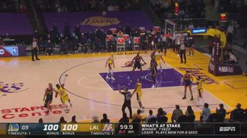 NBA, la tripla decisiva di LeBron vs. Warriors