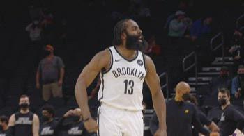 NBA, il meglio di Harden in maglia Nets