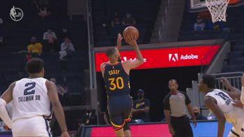 NBA, i 39 punti di Steph Curry contro Memphis