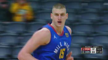 NBA, 34 punti per Nikola Jokic in gara-1 contro Portland