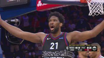 NBA, i 30 punti di Joel Embiid in gara-1 contro gli Wizards