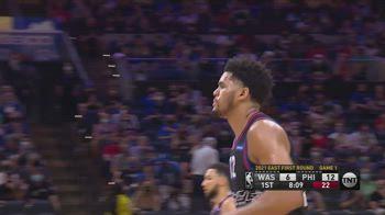 NBA, i 37 punti di Harris in gara-1 contro Washington