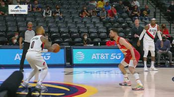 NBA, 42 punti e 9 triple per Lillard in gara-2 con Denver