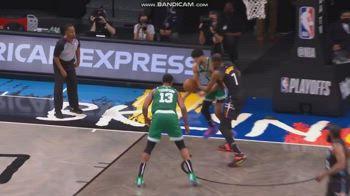 NBA, l'infortunio all'occhio di Jayson Tatum