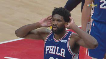 NBA, 36 punti di Embiid vs. Washington