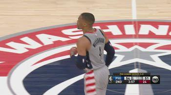 NBA, la tripla doppia di Westbrook in gara-4 contro Phila