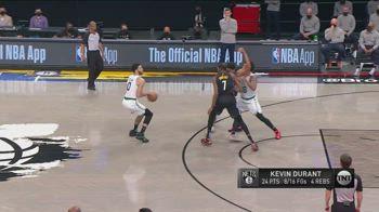 NBA, i 32 punti di Tatum in gara-5 contro Brooklyn