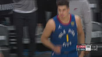 NBA, Highlights: Denver-Portland gara-5 147-140 2OT