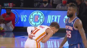 NBA Highlights: New York-Atlanta gara-5 89-103
