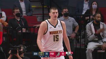 NBA, 36 punti per Nikola Jokic contro Portland in gara-6