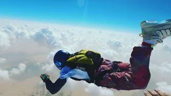 f1 hamilton lancio paracadute