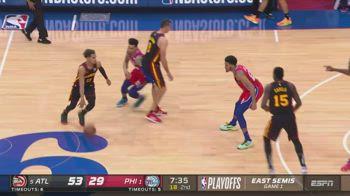NBA, i 35 punti di Young in gara-1 contro Philadelphia