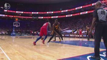 NBA, i 39 punti di Joel Embiid in gara-1 contro Atlanta