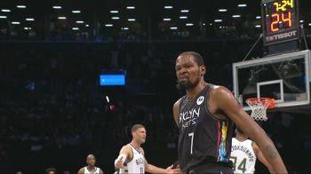 NBA Highlights Brooklyn-Milwaukee Gara-2 125-86_0023708