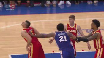 NBA, Embiid spinge alle spalle Gallinari e prende tecnico