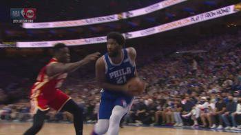 NBA, i 40 punti di Joel Embiid in gara-1 contro Atlanta
