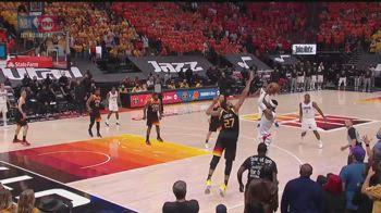 NBA, la stoppata decisiva di Rudy Gobert su Marcus Morris