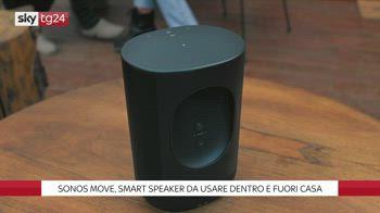 ++NOW Sonos Move, smart speaker da usare dentro e fuori casa