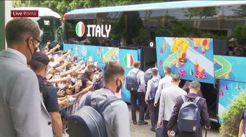 partenza italia verso stadio