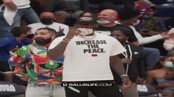 NBA, LeBron-Drake in prima fila a vedere la gara di Bronny