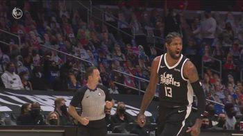 NBA, 31 punti per Paul George vs. Utah, gara-3