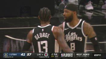 NBA Highlights L.A. Clippers-Utah 132-106_5727473