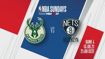 NBA, Bucks-Nets gara-4 alle 21 su Sky e in streaming