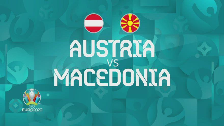 Austria-Nord Macedonia 3-1: gol e highlights