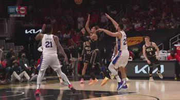 NBA, 25 punti e 18 assist per Young in gara-4 vs Sixers