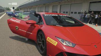 ++NOW Test di velocit�, in Lamborghini con OPPO Find X3 Pro