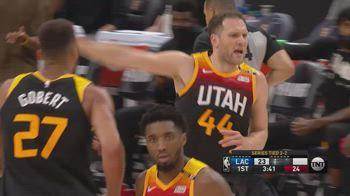 NBA, 32 punti di Bojan Bogdanovic in gara-5 vs. Clippers
